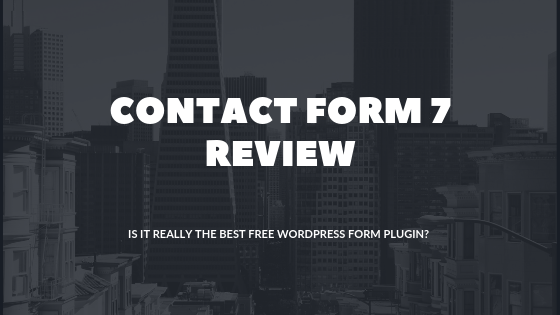 Best Free WordPress Form Plugin